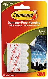19 Things every DIYer should own- 3m command strips! Clever nest