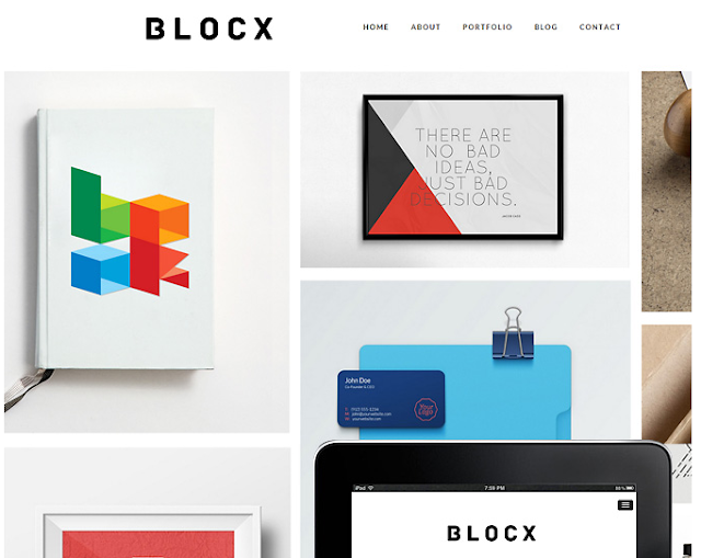 Blocx Responsive WordPress Theme