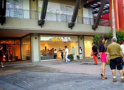 bread talk at ayala district mall