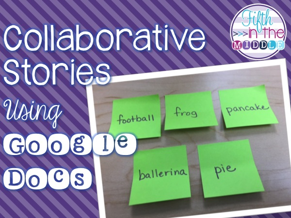 A Twist On Collaborative Writing Using Google Docs Fifth In The Middle - Using google docs