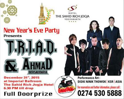 konser musik di Rich Hotel Jogja