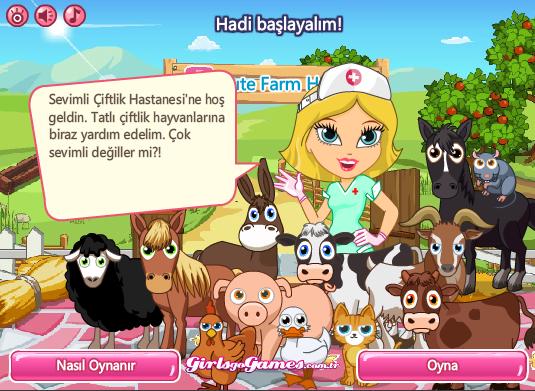 Hayvan Doktoru Kız