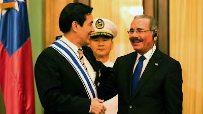 Presidente Danilo Medina recibe a Ma Ying-jeou: se fortalecen lazos con Taiwán