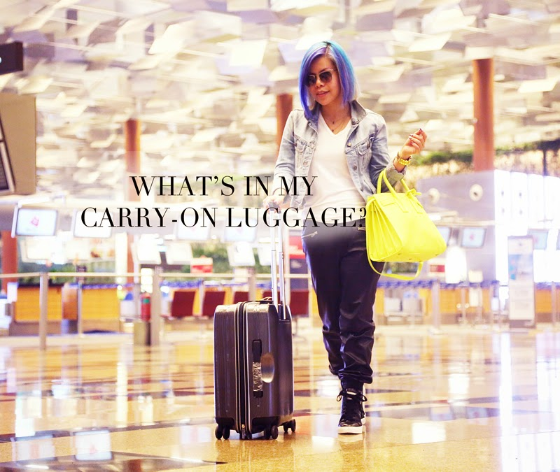 WHAT TO BRING IN A CARRY-ON LUGGAGE?