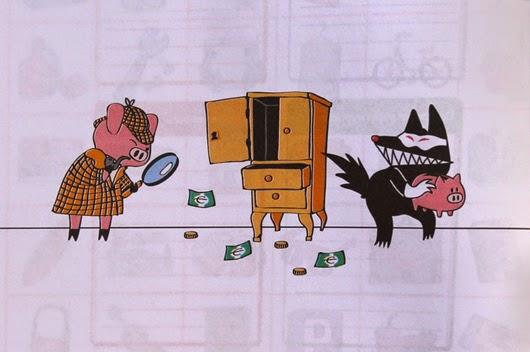Cerdo detective