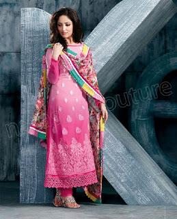Fancy Georgette Salwar Kameez Designs