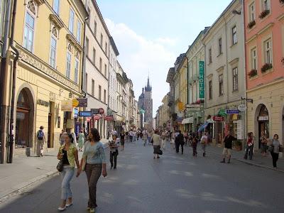 (Poland) - Krakow - Min Market Square