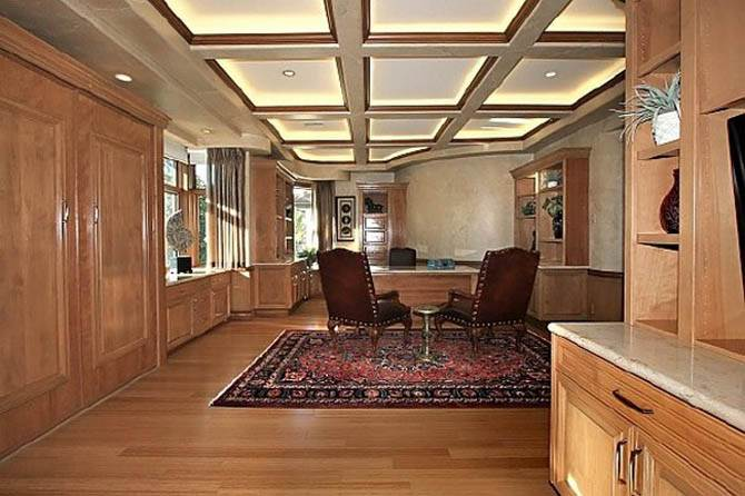 Creative Home Office Design Nicolas Cages Former House