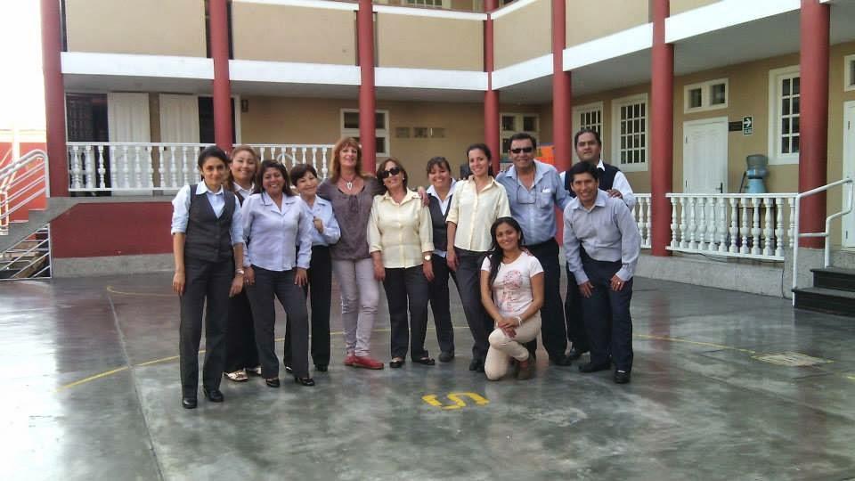 Danzas con docentes - Lima, diciembre 2014