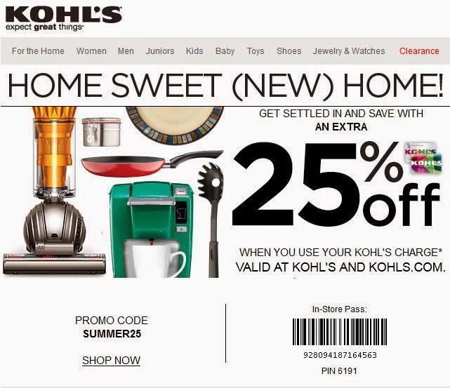 Kohls coupons 2019