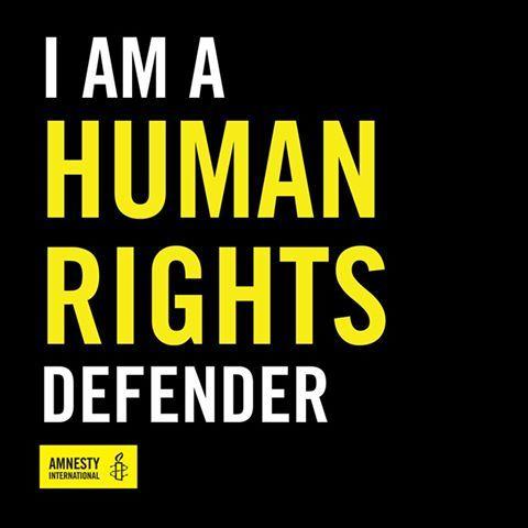jighInfo: Yo soy un defensor de los derechos humanos