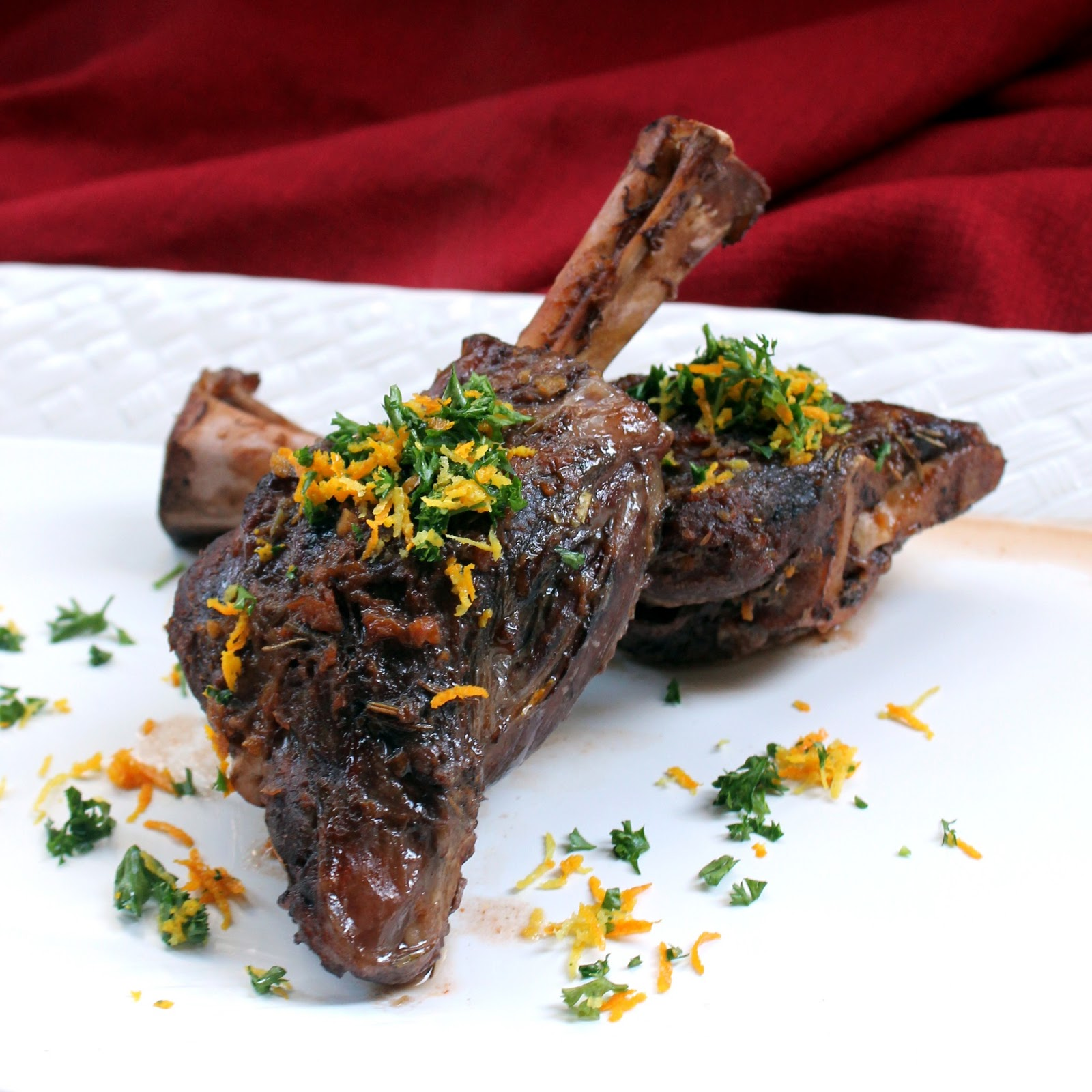 ... lamb shanks braised with mustard and mint braised lamb shanks in