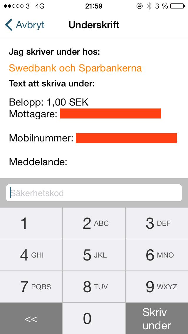 hur skriver man mobilnummer korrekt