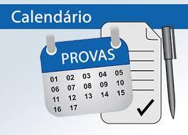 Calendário de Provas 2017.2