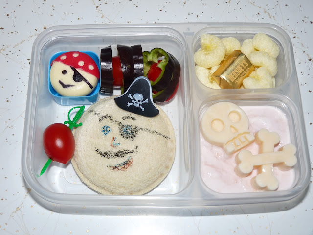 talk like a pirate day bento lunch
