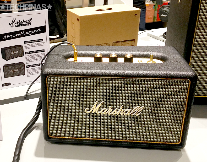Marshall Speaker, Marshall Acton