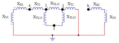 Membuat diagram urutan jendela den ngabei impedansi urutan nol memperhatikan hubungan trafo dan juga pengetanahan generator untuk gambar sistem tenaga listrik diatas diagram impedansi urutan ccuart Image collections
