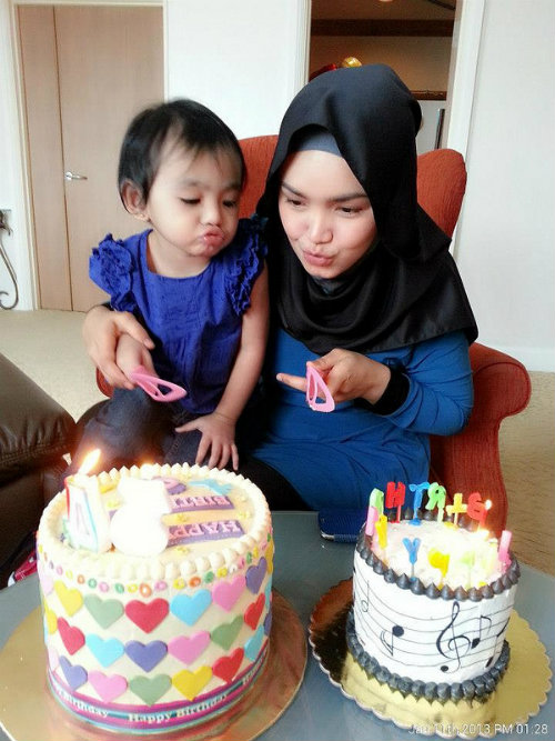 Siti Nurhaliza Bertudung Litup Di Hari Lahir Ke 34