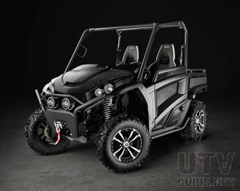 RSX850i Midnight Black Special Edition Gator