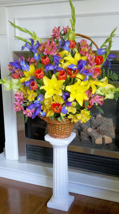 Spring Sympathy Basket
