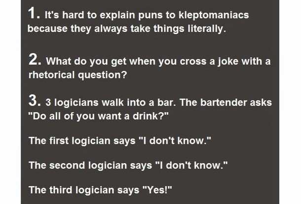 20 Jokes Only Intelligent People Will Get