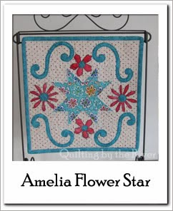 Free Tutorial Amelia Flower Star at Freemotion by the River