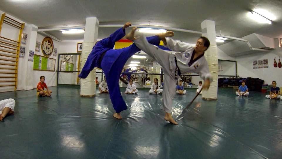 Gimnasio han kuk hapkido taekwondo el maestro bang kyung for Gimnasio telde