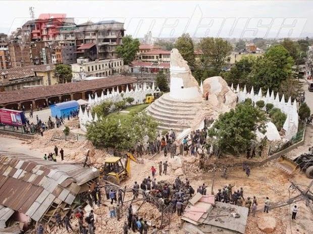 Gempa Bumi Nepal Tanda Kiamat Semakin Hampir