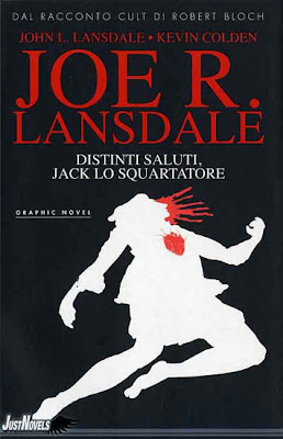 Distinti saluti, Jack lo Squartatore, 2011, copertina