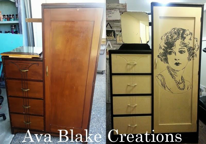 Kitchen storage cabinet with wine rack