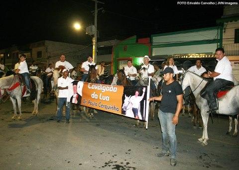 Cavalgada da Lua homenageia Paulo Cerquinho