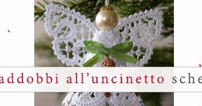Relas addobbi natalizi all 39 uncinetto schema gratis di for Addobbi natalizi all uncinetto