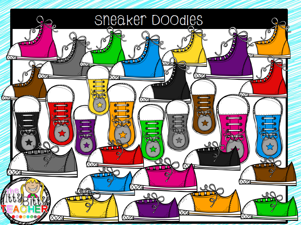 https://www.teacherspayteachers.com/Product/Clipart-Rainbow-Sneaker-Doodles-1809027