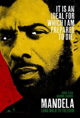 Mandela Long Walk to Freedom Idris Elba Poster