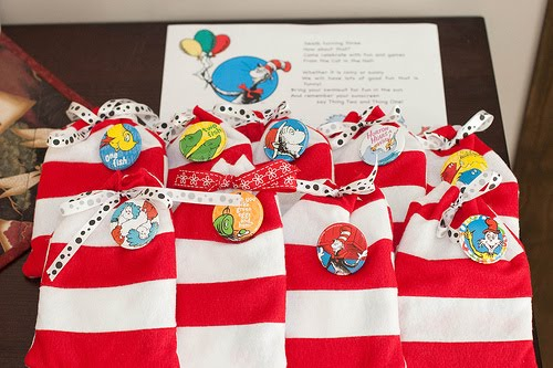 Pool Party Gift Bag Ideas find this pin and more on birthday party ideas I Hate The Idea Of Single Use Plastic Goodie Bags That Would Just End Up In A Landfill Somewhere So When I Saw Some Left Over Red And White Felt In My