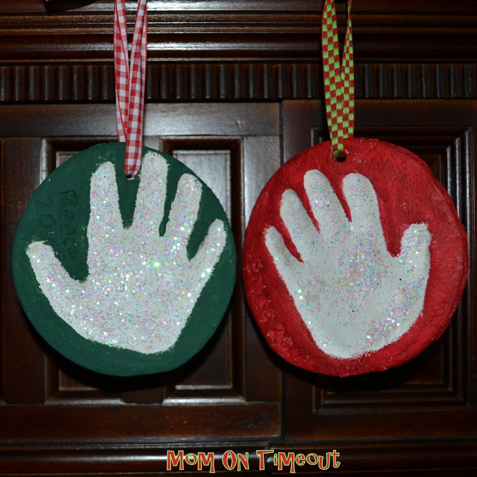 Salt dough christmas ornaments mom on timeout