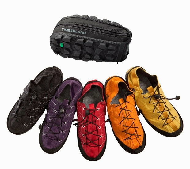 Amazing Creative Products: Timberland Foldable Shoes