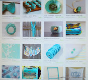 My Fringe Scarf included in the - Inspiring Turquoise Etsy Treasury