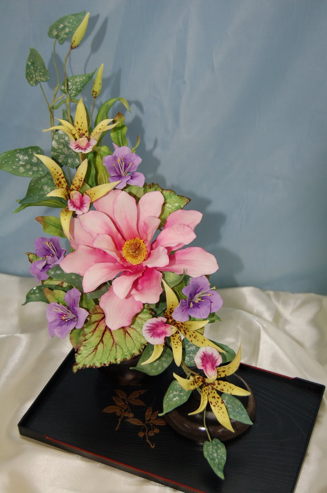 Cake Expressions Sugarcraft Icca Demonstration Magnolia