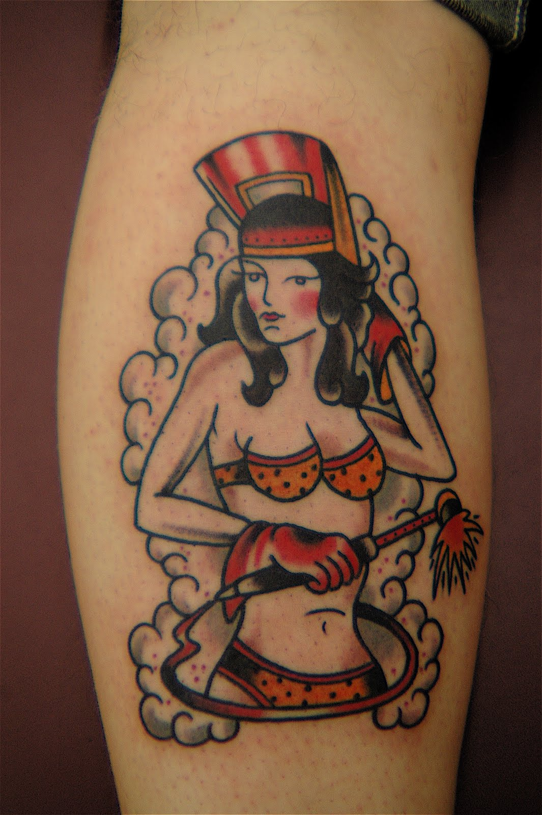 Welder Pin Up Girl