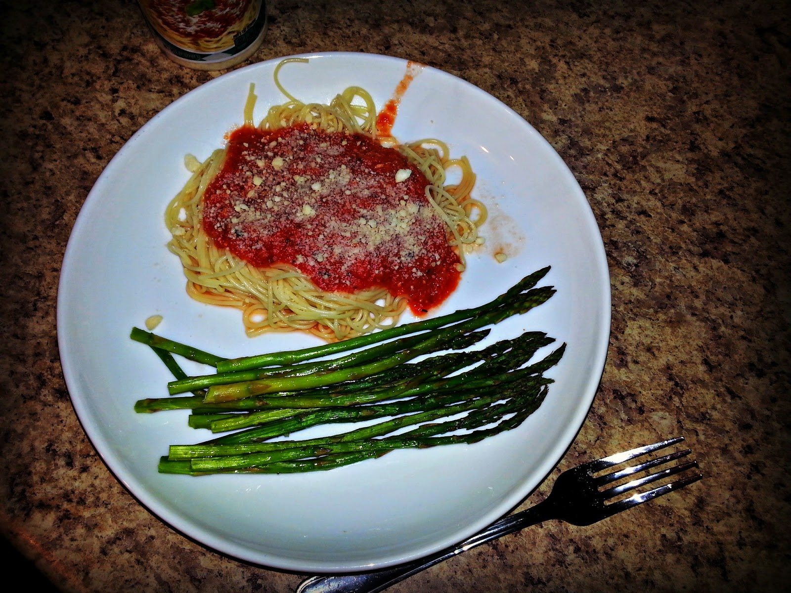 Family Meals on a Budget: Week 1 & 2 Baked Aspargus and Homemade Pasta