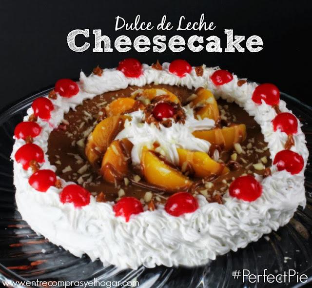 Dulce de Leche Cheesecake #PerfectPie #shop #cbias