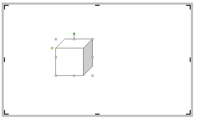 Как сделать куб в ворде