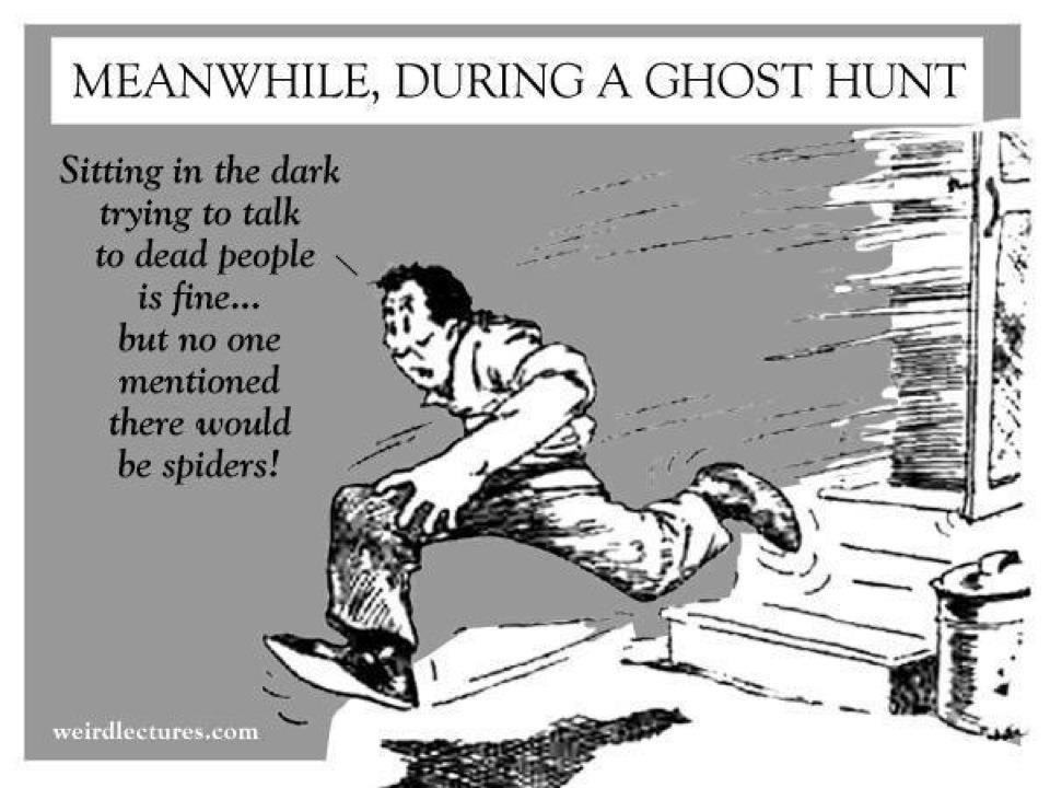 ghost hunting Ghost hunting is the process of investigating locations that are reported to be haunted by ghosts typically, a ghost-hunting team will attempt to collect ev.