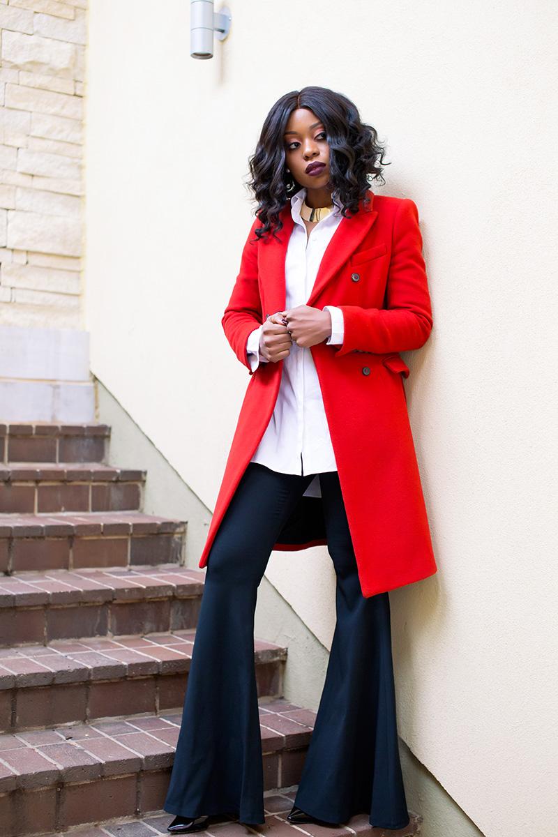 wide flare trouser, www.jadore-fashion.com