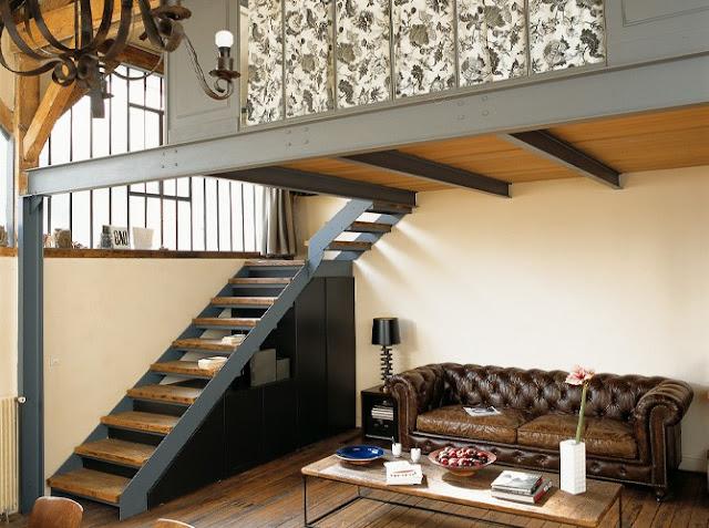 Tour privado a un peque o loft decoraci n - Decoracion de loft pequenos ...