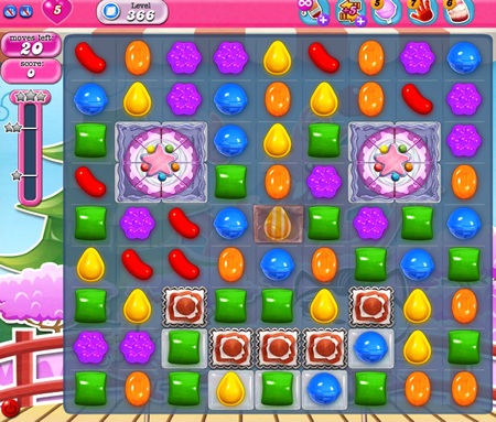 Candy Crush Saga 366