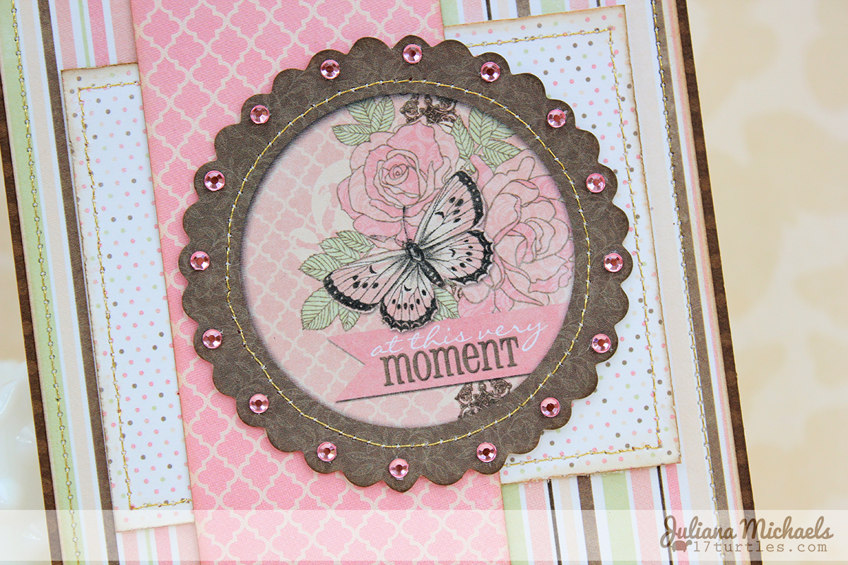 At This Moment Card by Juliana Michaels for BoBunny #bobunny #primrose