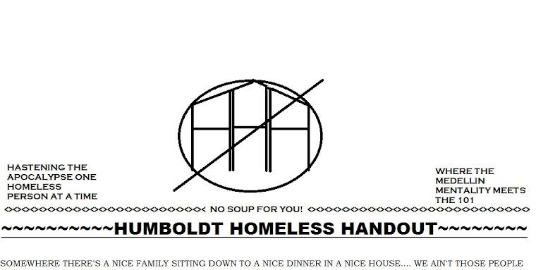 Humboldt Homeless Handout