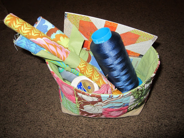 Fabric Basket Swap Received